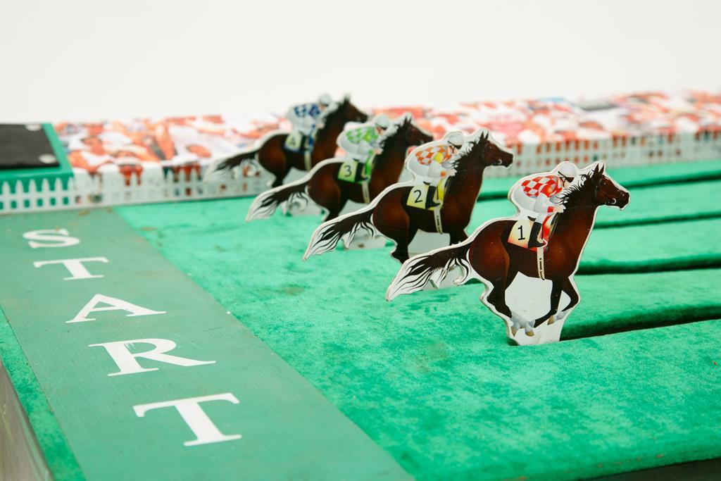 Фото Скачки на лошадках
