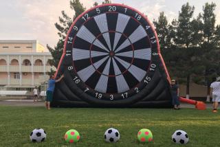 Фото Футбольный дартс